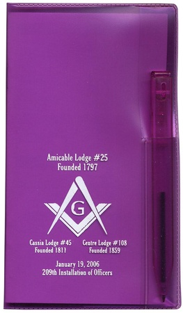 Personalized Monthly Pocket Planners with Pen - 2021