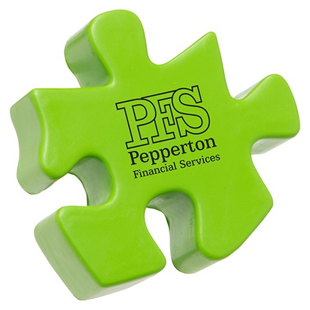 Personalized Puzzle Piece Stress Balls