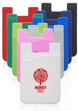 Personalized Silicone Phone Wallets