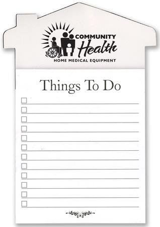 Personalized Things To Do Refrigerator Magnet & Pad