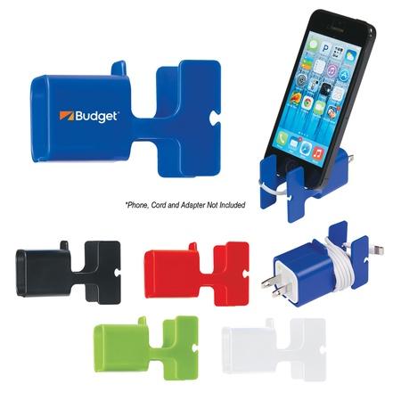 Custom Phone Stand & Cord Wrap Combo