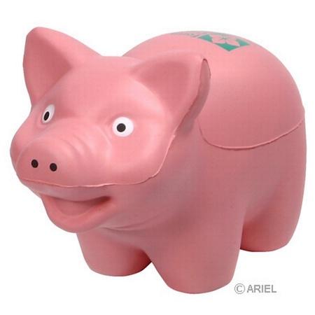 Promotional Pig Stress Balls