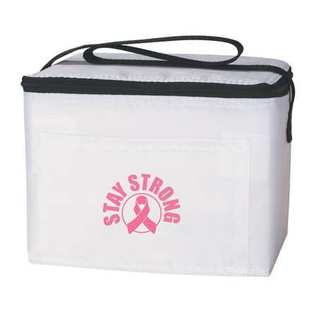 Pink Ribbon Awareness Lunch Bag