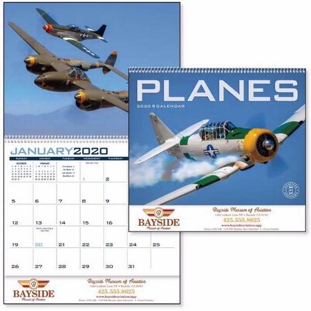 Planes Calendar - 2020