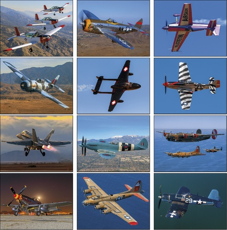 Planes Personalized 2021 Wall Calendars