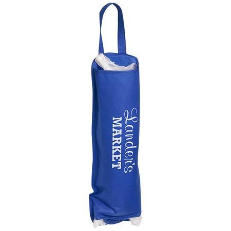 Plastic Bag Keeper Tube with Custom Imprint