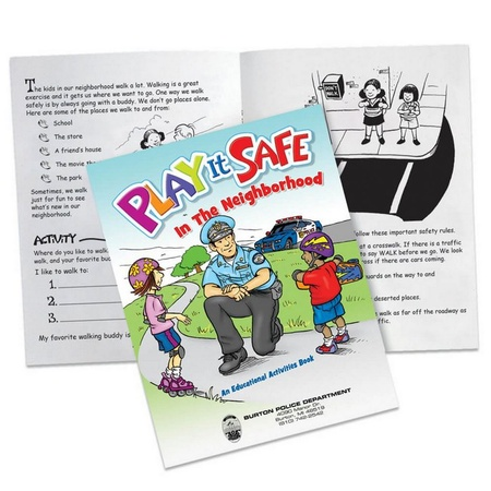 Play It Safe In The Neighborhood Activities Book