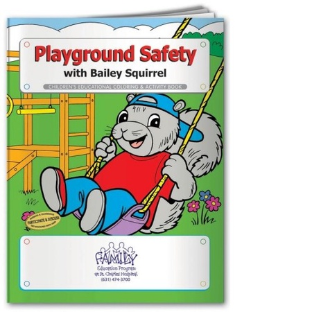 Playground Safety Coloring & Activities Book