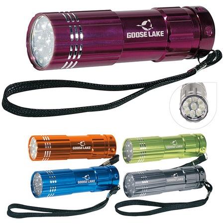 Pocket Aluminum LED Flashlight