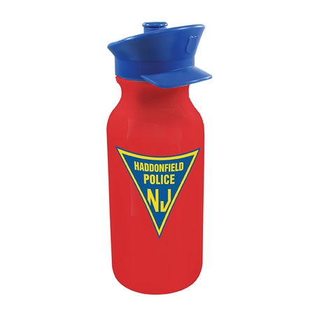 Custom Police Hat Water Bottles