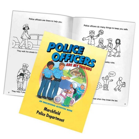 Police Officers Are My Friends Activities Book