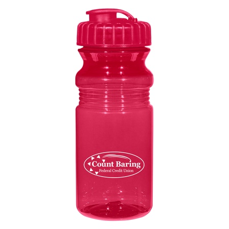 Poly-Clear 20 oz. Promotional Fitness Bottles