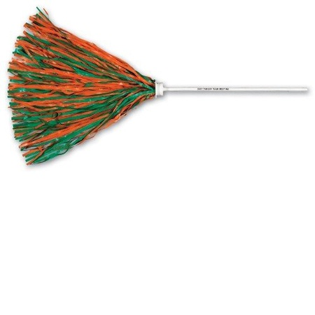 Pom Poms wth Stick Handle
