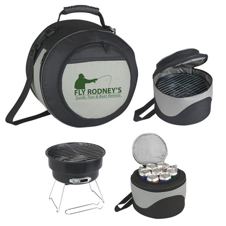 Portable BBQ Grill & Cooler
