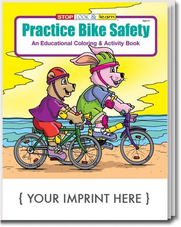 Practice Bicycle Safety Coloring & Activity Book