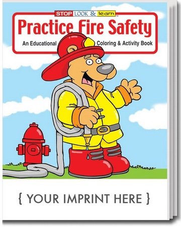 Practice Fire Safety Coloring & Activities Book