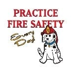Practice Fire Safety Temporary Tattoo