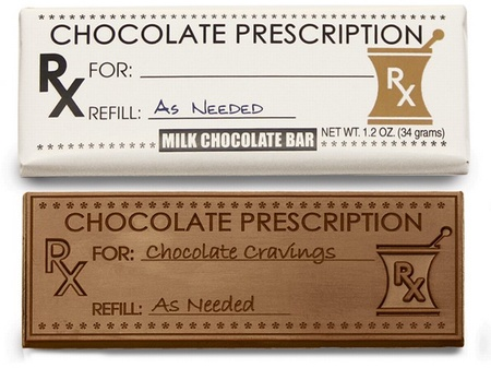 Prescription Chocolate Bar