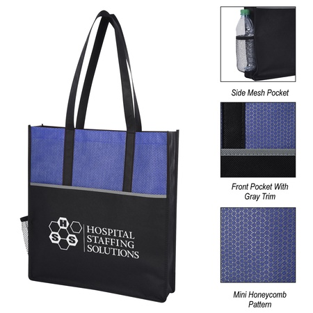 Promenade Non-Woven Custom Tote Bags