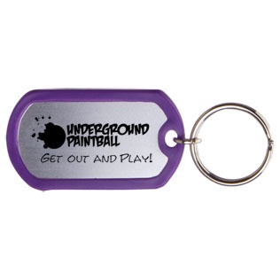 Promotional Dog Tag Keytags
