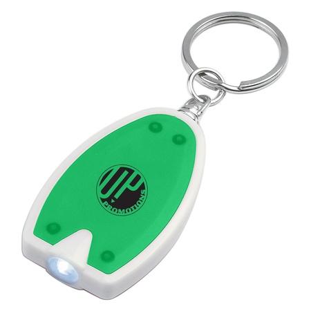 Promotional LED Flashlight Key Chains
