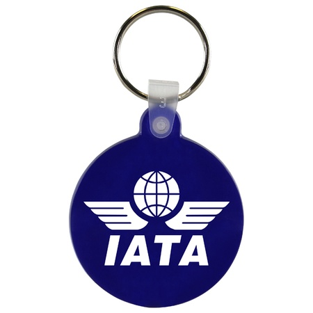 Promotional Soft Circle Key Fobs