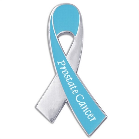Prostate Cancer Awareness Ribbon Pin