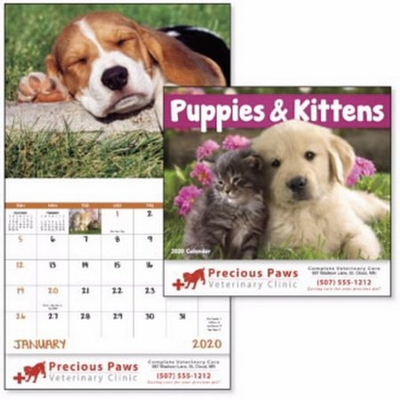 Puppies & Kittens Calendar - 2020