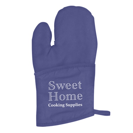 Quilted Cotton Canvas Custom Oven Mitts