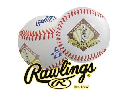 Custom Printed Rawlings Baseballs