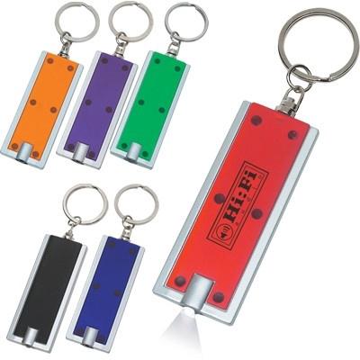 Custom Rectangular LED Keytag Lights