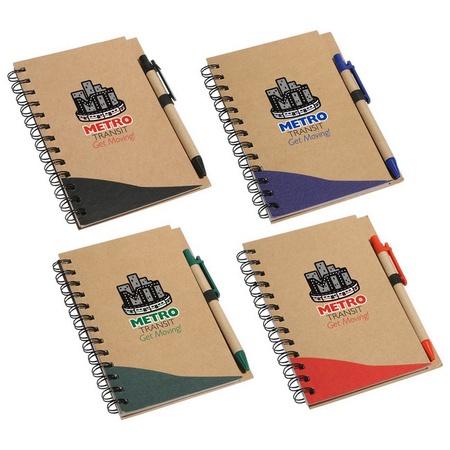 Recycled Write Custom Notebook & Pen