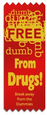 Red Ribbon - Free From Drugs
