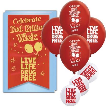 Red Ribbon Week Celebration Kit