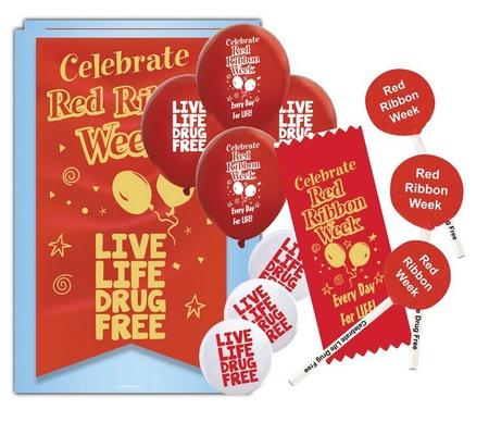 Red Ribbon Week Deluxe Celebration Kit