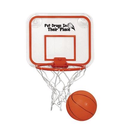 Red Ribbon Week Mini Basketball & Hoop Set