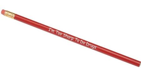 Red Ribbon Week Pencils