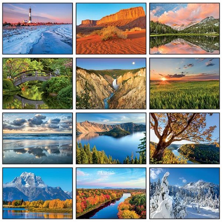 Reflections Personalized Wall Calendars - 2021