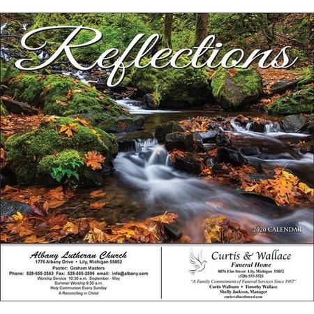 Reflections Wall Calendar - 2020