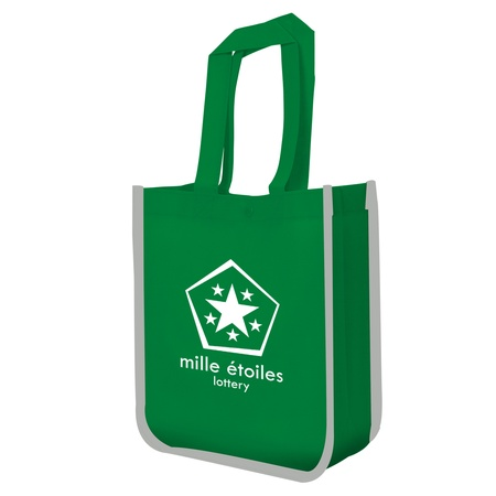 Reflective Logo Lunch Tote Bags