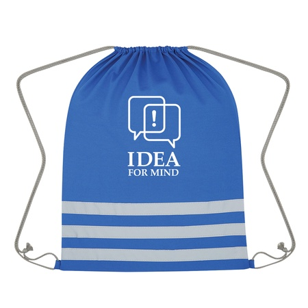 Reflective Safety Drawstring Bag