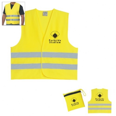Custom Printed Reflective Safety Vests