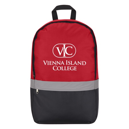 Reflective Strip Custom Backpacks