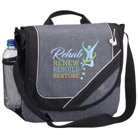 Rehab: Renew, Rebuild, Restore Messenger Bag Gift