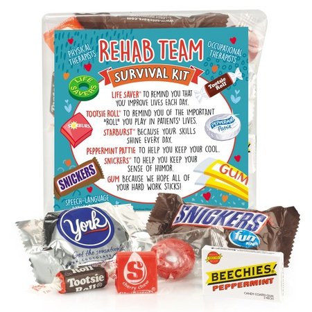 Rehab Team Survival Treat Packs