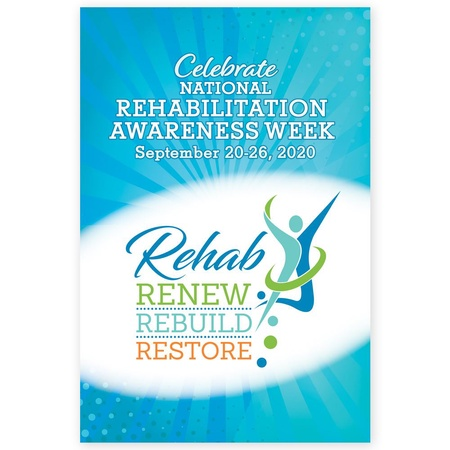 Rehabilitation Awareness Week Posters