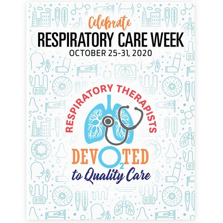 Respiratory Care Week Event Posters