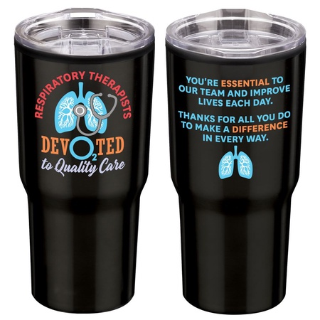 Respiratory Therapists Stainless Steel 20 oz. Tumbler Gifts