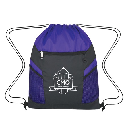 RipStop Logo Drawstring Backpack