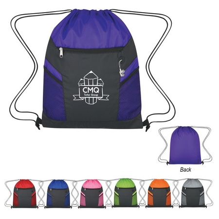 RipStop Logo Drawstring Backpack